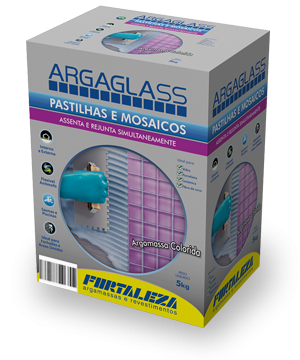 Argaglass Fortaleza branca - 05KG