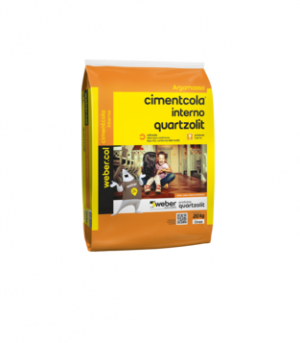 Argamassa Quartzolit AC1 interna cinza